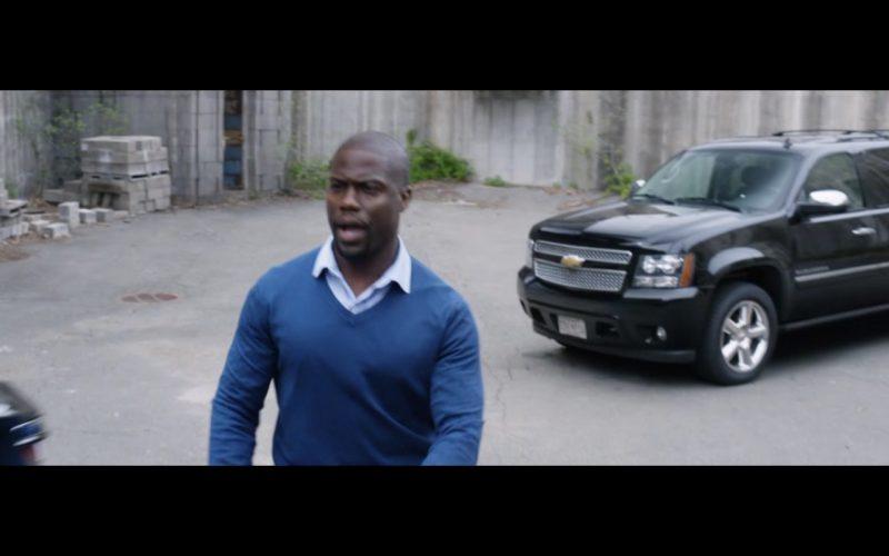 Black Chevrolet Suburban (1)