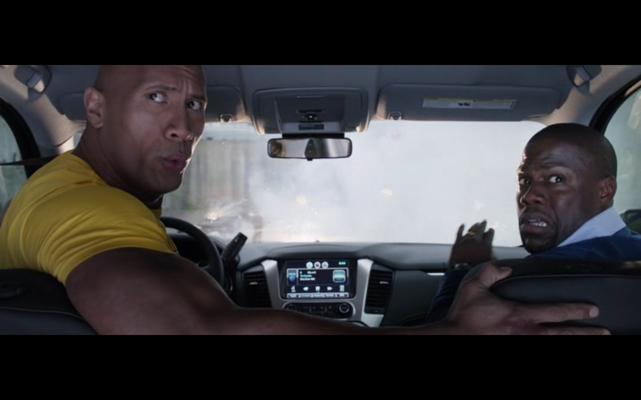 Black Chevrolet Suburban – Central Intelligence (2016) - Movie Product Placement