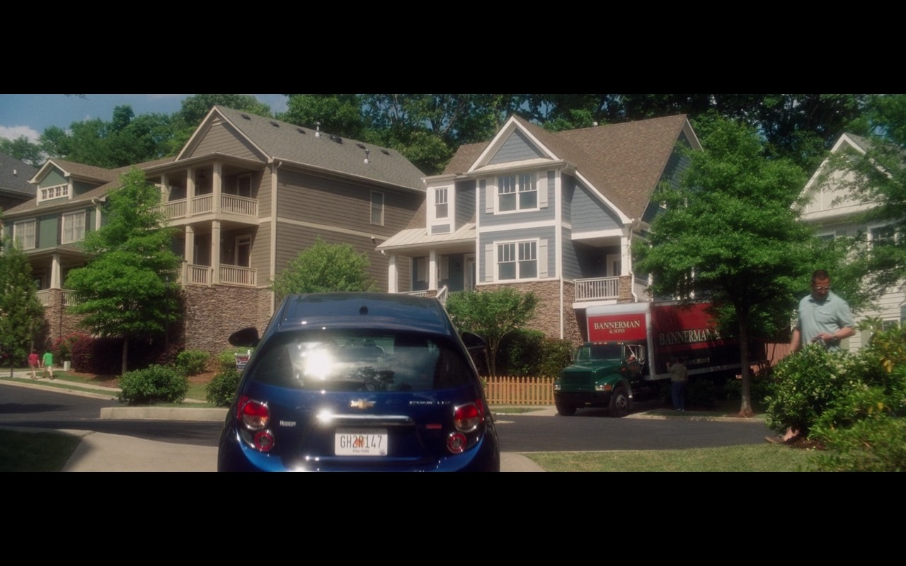 Blue Chevrolet Sonic LTZ - Keeping Up with the Joneses (2016) Movie Product Placement