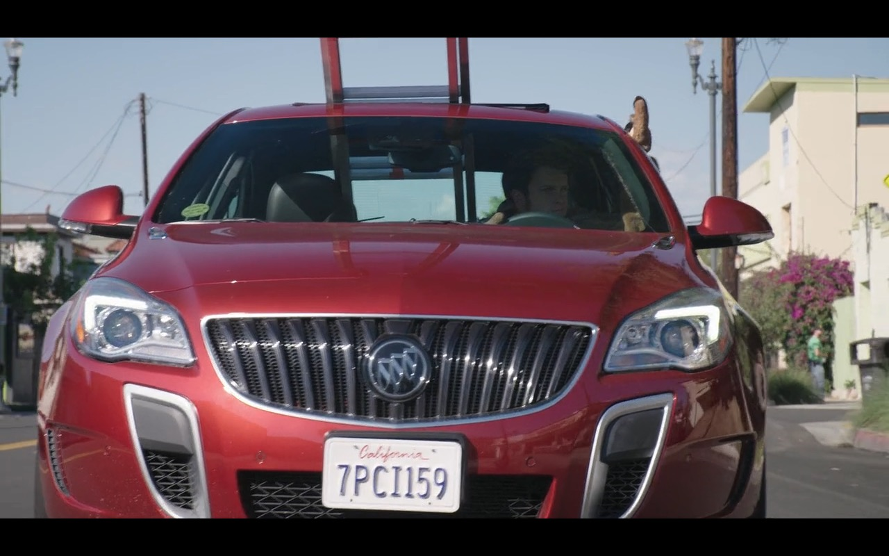 Red Buick Regal - Mascots (2016) Movie Product Placement