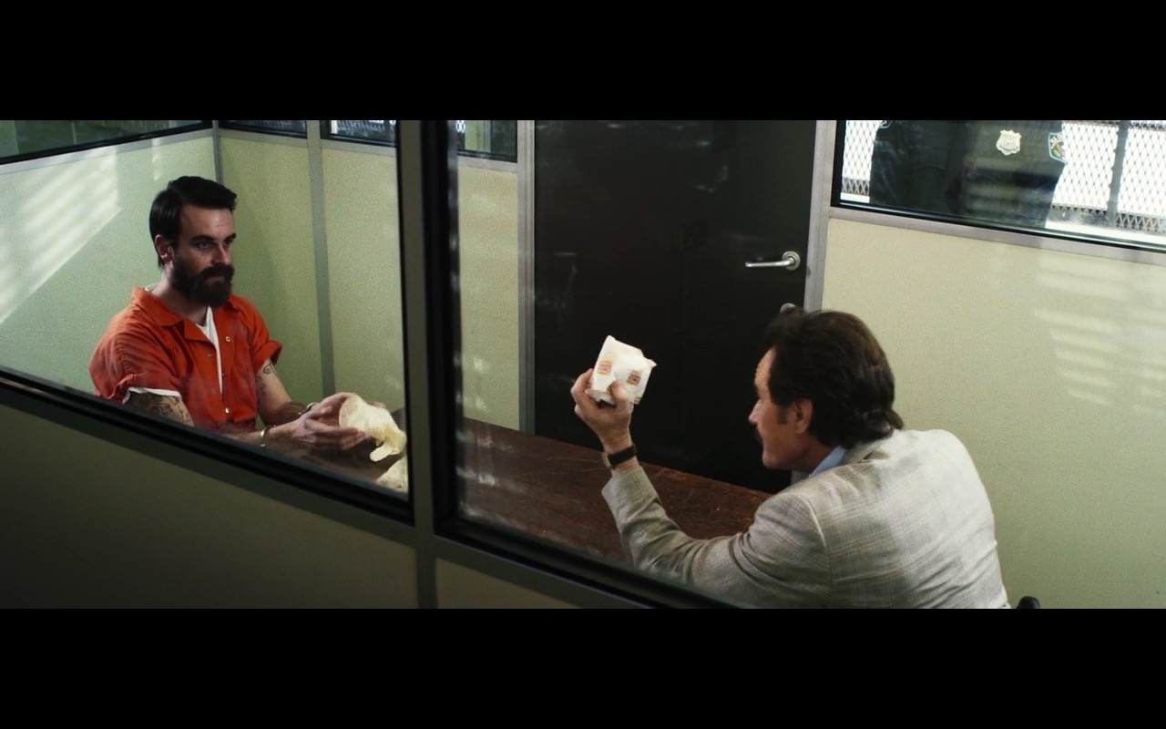Burger King - The Infiltrator (2016) Movie Product Placement
