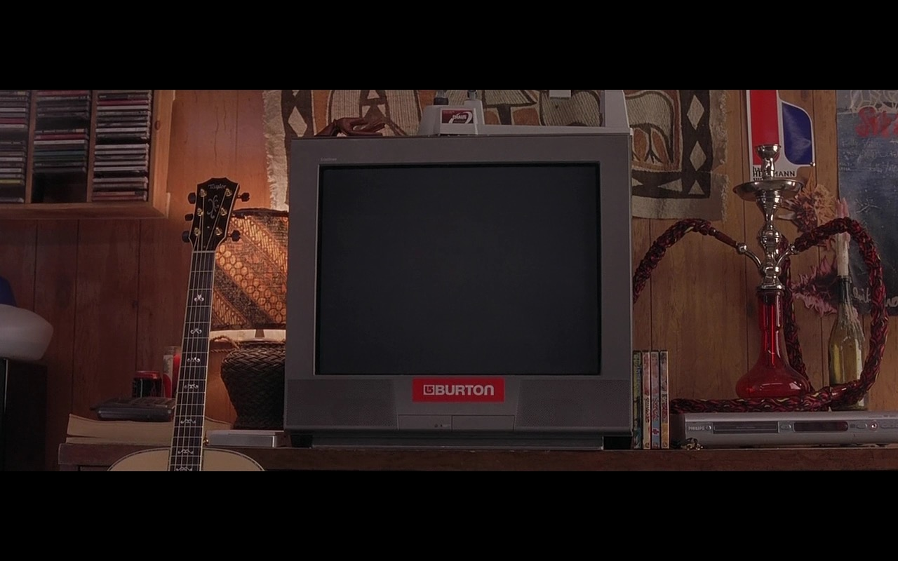 Burton Logo And Philips DVD Player - Grandma's Boy (2006) - Movie Product Placement