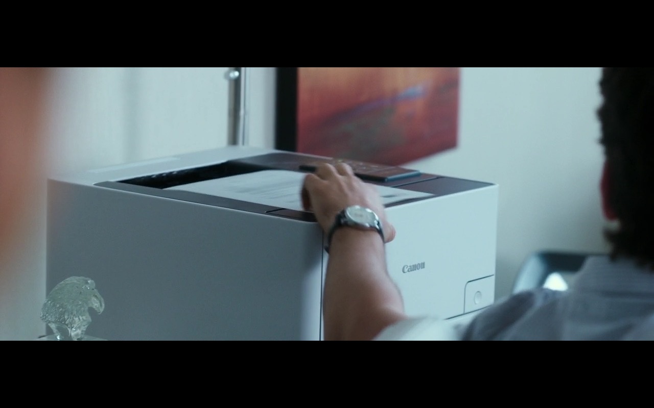 Canon Printer – War Dogs (2016) Movie Product Placement