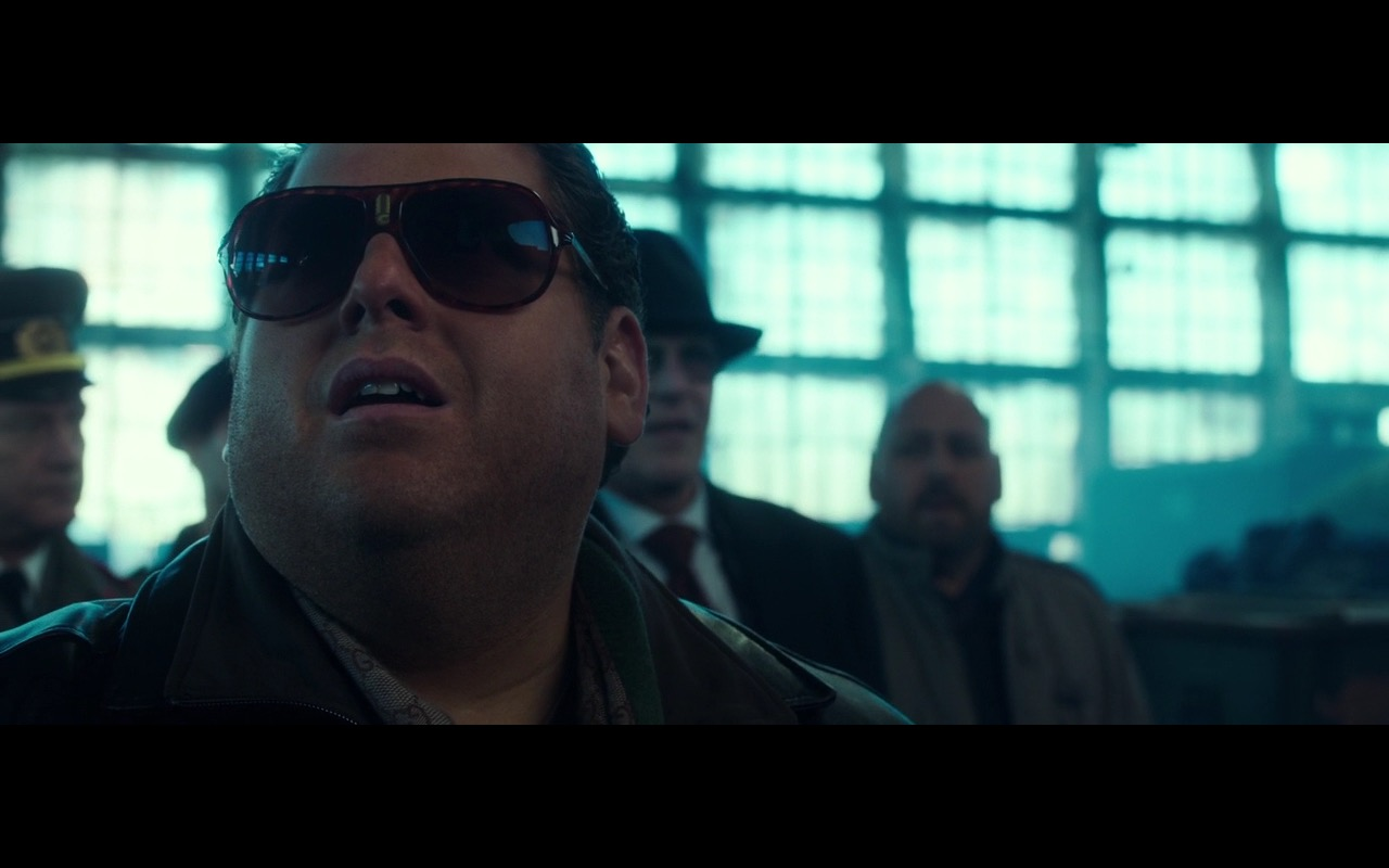 Carrera Safari Men's Sunglasses - War Dogs (2016) - Movie Product Placement