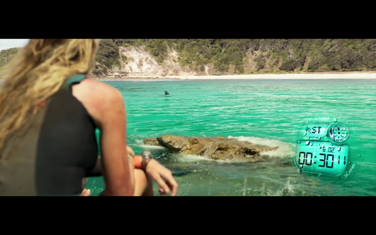 Casio Watch - The Shallows (2016) Movie Product Placement