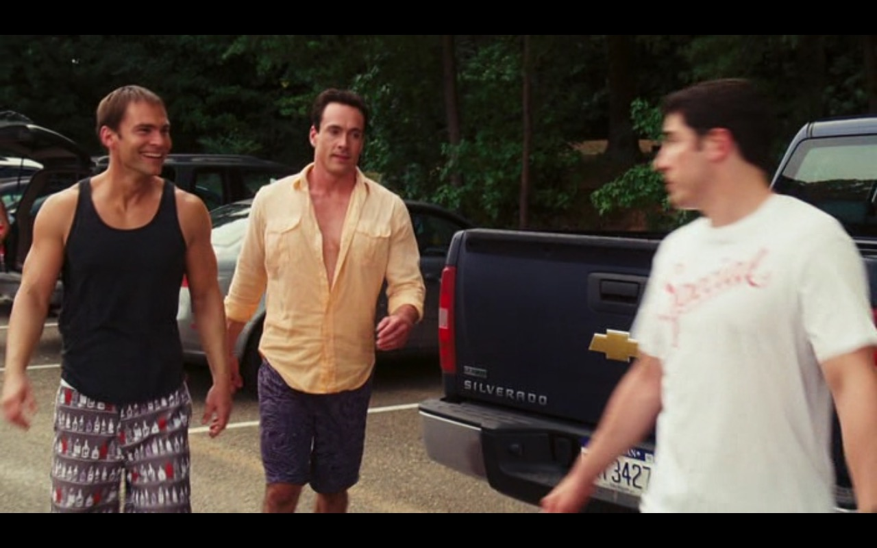 Chevrolet Silverado – American Reunion (2012) Movie  Product Placement Review