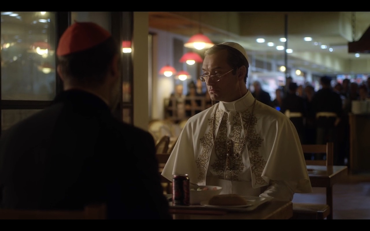 Coca-Cola Cherry - The Young Pope TV Show Product Placement