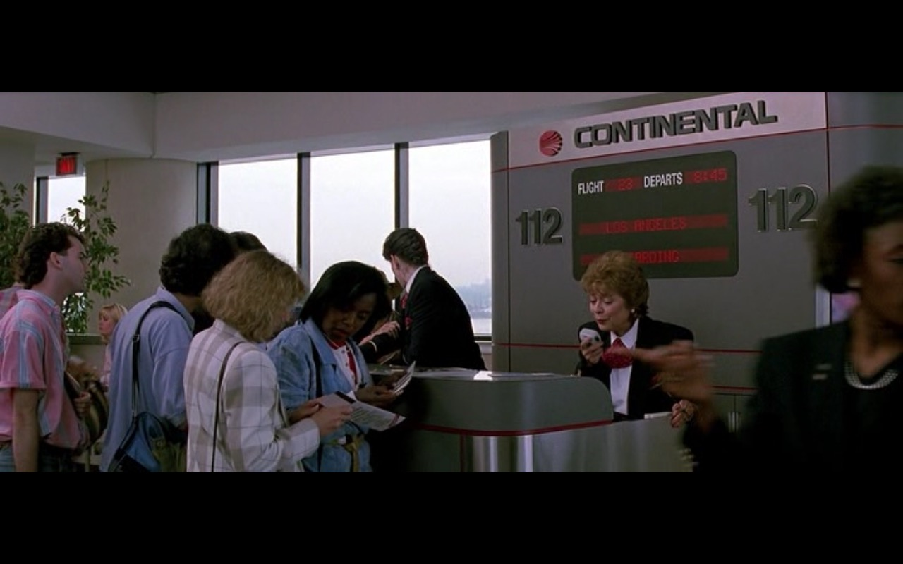 Continental Airlines – The Hard Way (1991) Movie Product Placement