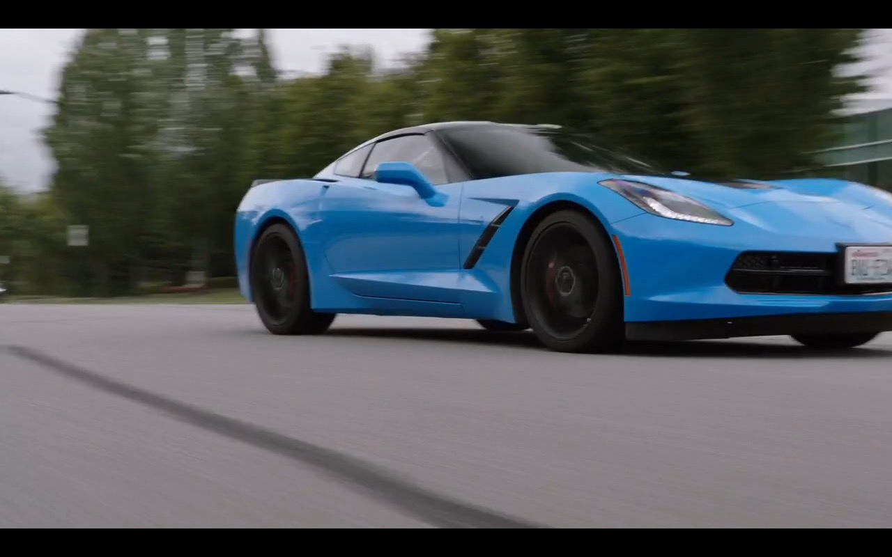 Corvette Stingray - Dirk Gently's Holistic Detective Agency TV Show Product Placement