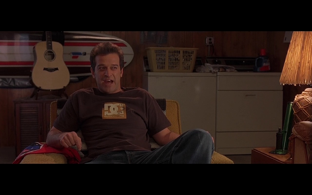 """""""DC Shoes"""" T-Shirts – Grandma's Boy (2006) - Movie Product Placement"""