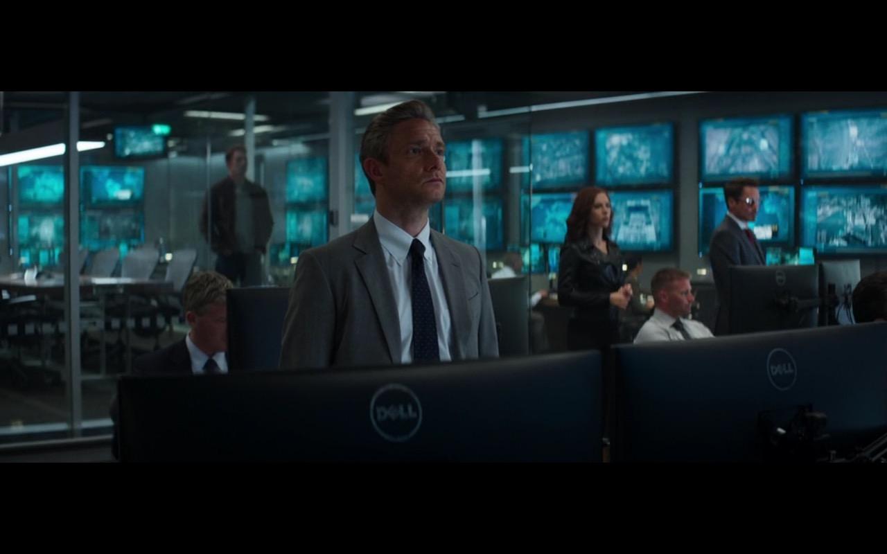DELL Monitors – Captain America: Civil War (2016) - Movie Product Placement
