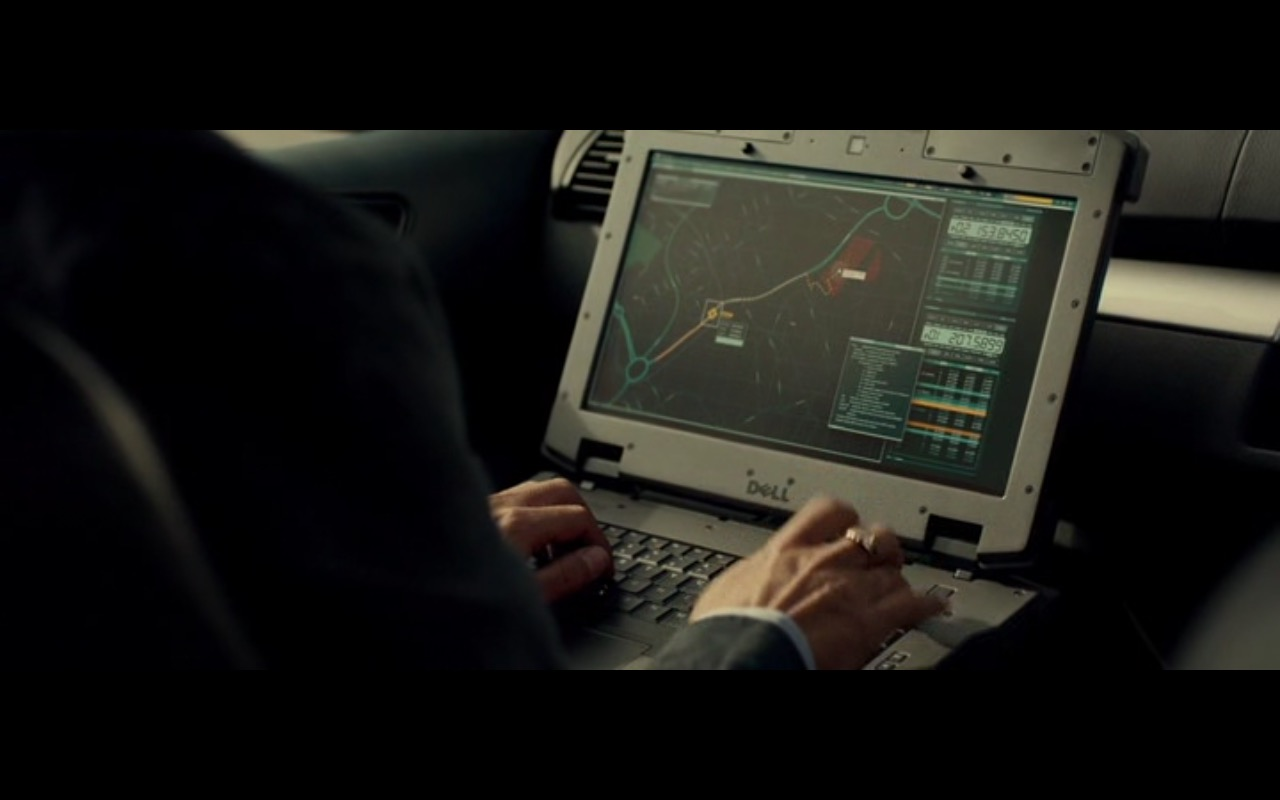 DELL Notebooks - Criminal (2016) Movie Product Placement