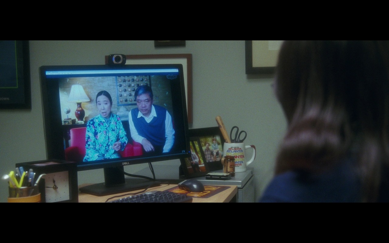 Dell Monitor And Skype  – Keeping Up with the Joneses (2016) Movie Product Placement