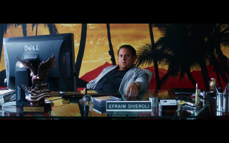 Dell Monitors – War Dogs (2016) Movie Product Placement