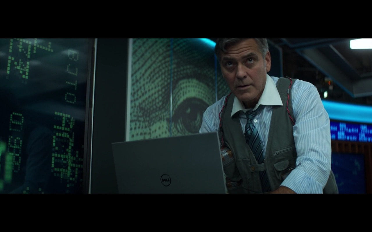 Dell Notebooks - Money Monster (2016) Movie Product Placement