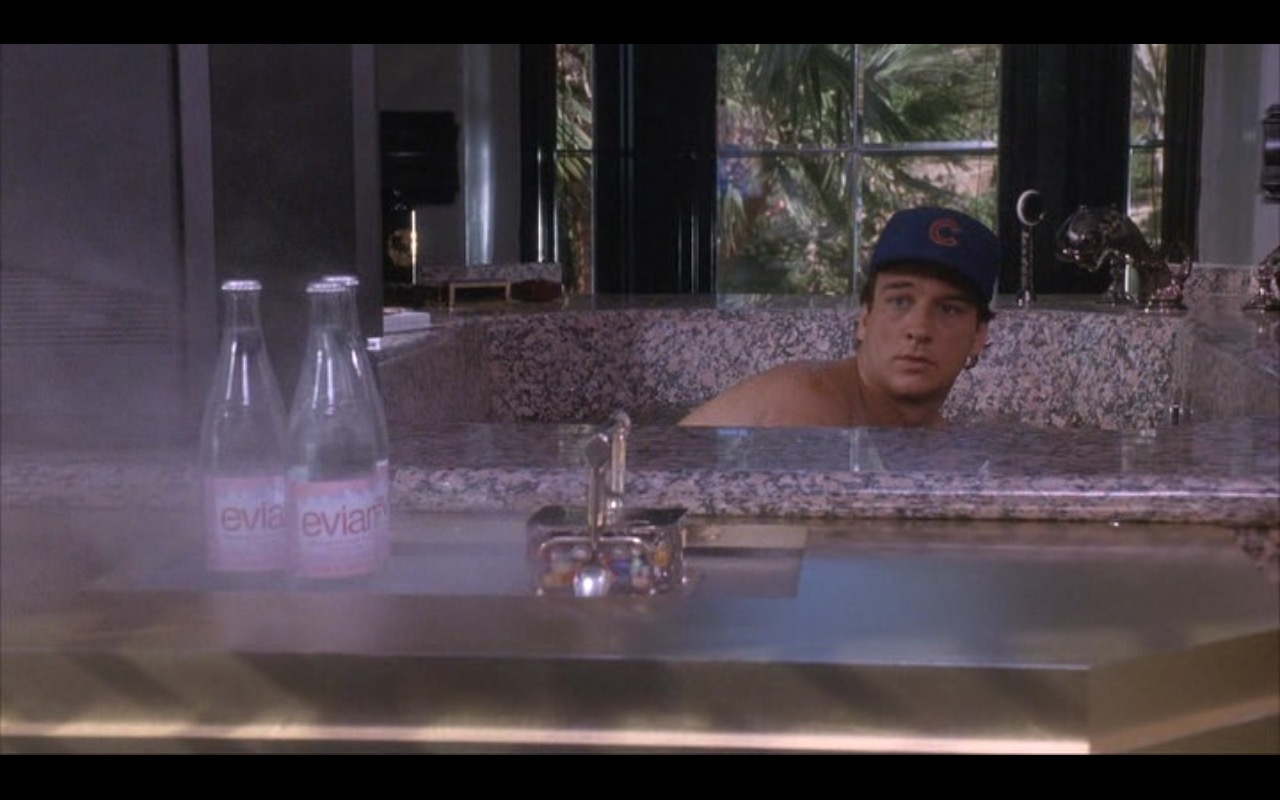 Evian Mineral Water – Taking Care of Business (1990) - Movie Product Placement