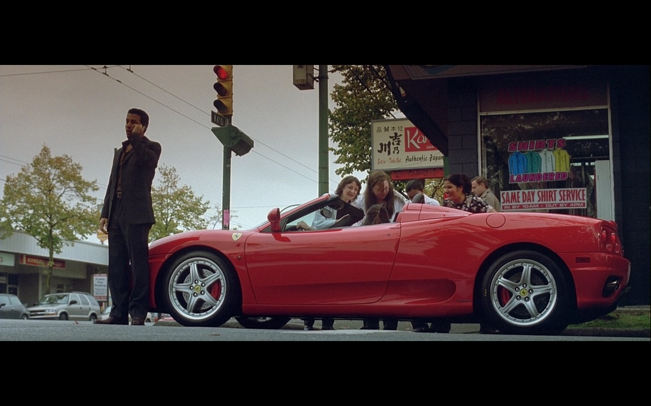 Red Ferrari 360 Spider - Two for the Money (2005) - Movie Product Placement