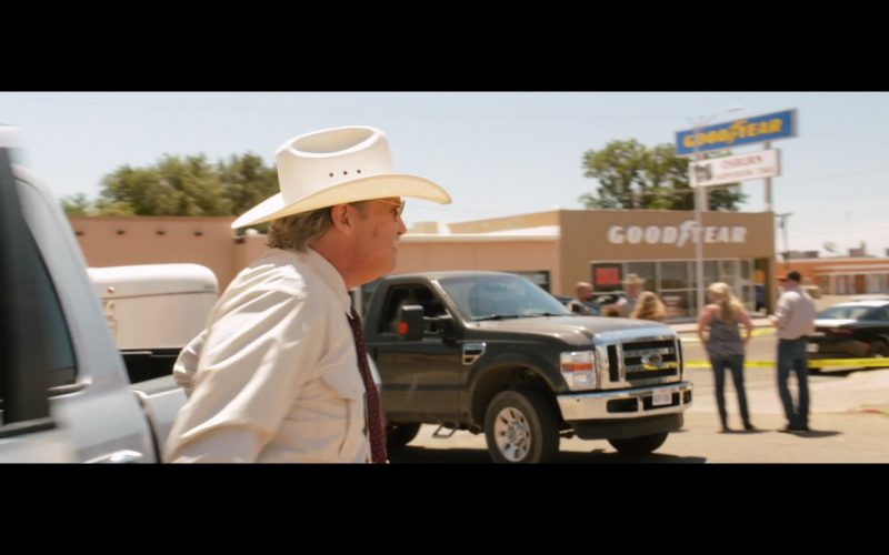 Goodyear – Hell or High Water (2016) Movie Product Placement