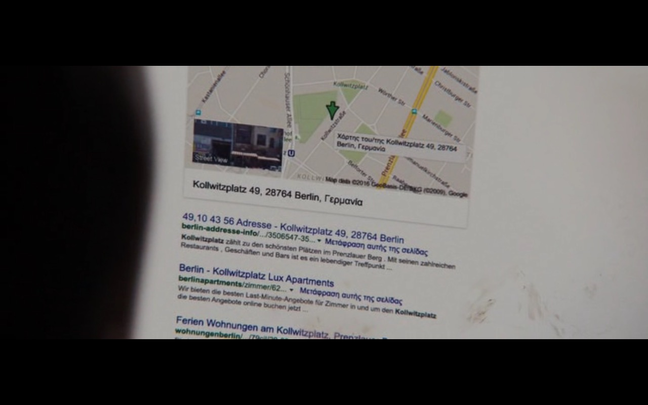 Google Search – Jason Bourne (2016) Movie Product Placement