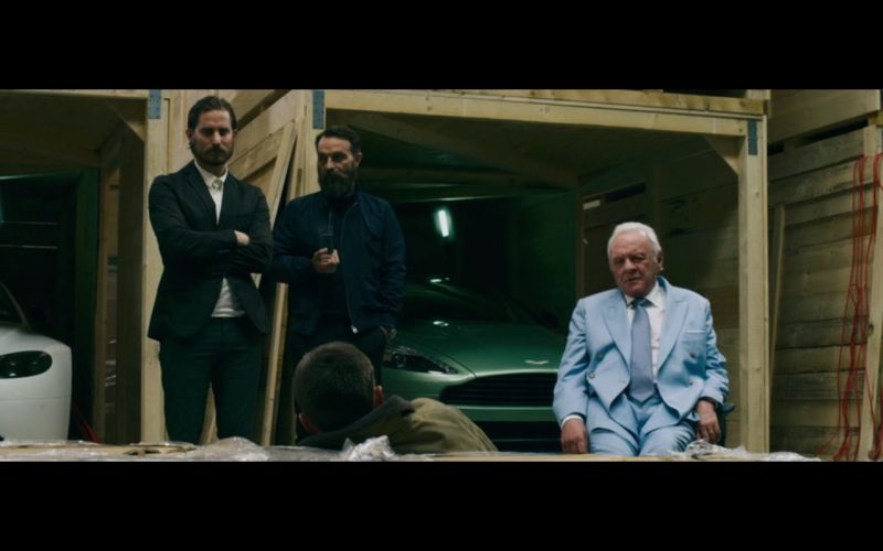 Green Aston Martin Vanquish – Collide (2016)