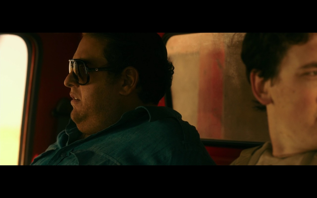 Gucci Men's Sunglasses – War Dogs (2016) Movie Product Placement