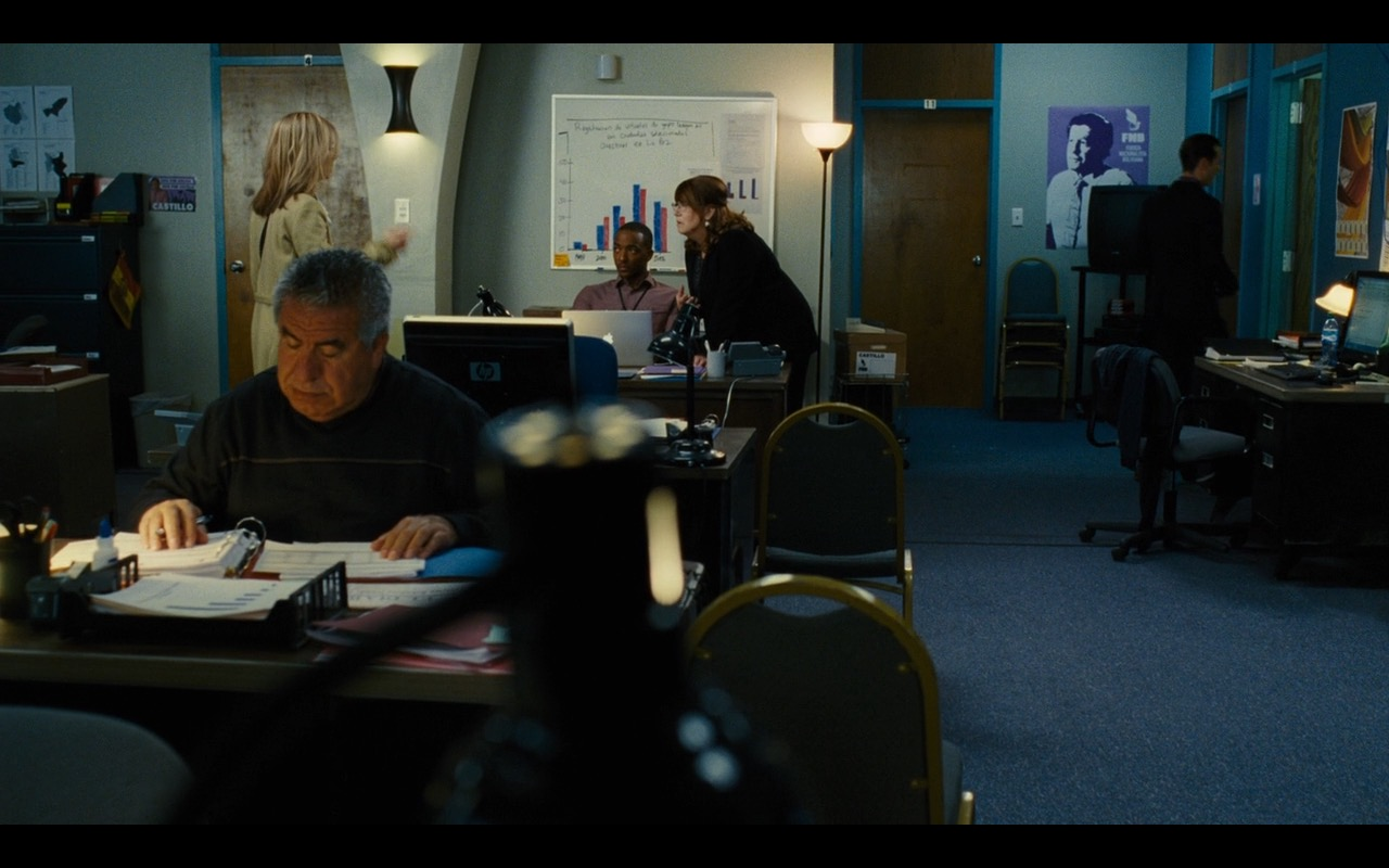 HP Monitor And Apple Macbook Pro 15 - Our Brand Is Crisis (2015) Movie Product Placement