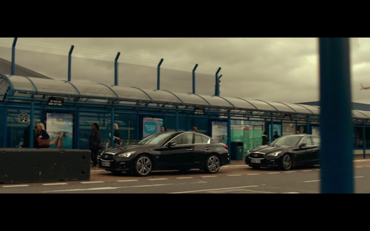 Infiniti Q50 -  Criminal (2016) Movie Product Placement