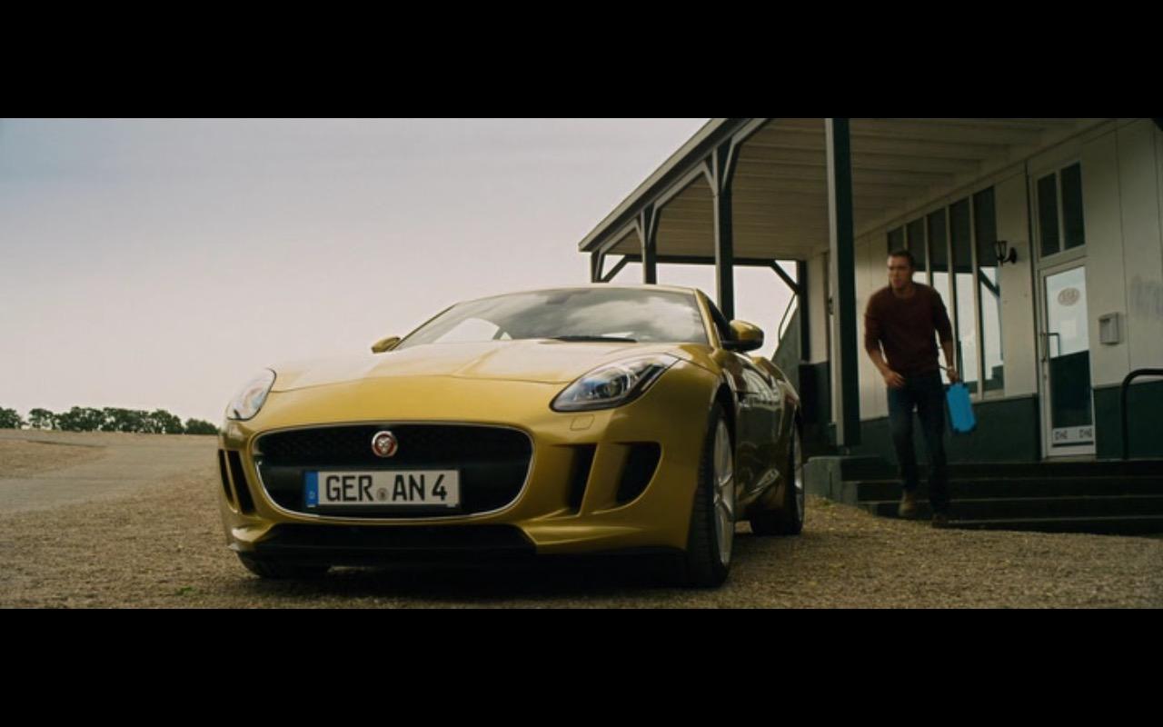 Yellow Jaguar F-Type Coupé – Collide (2016) Movie  Product Placement Review