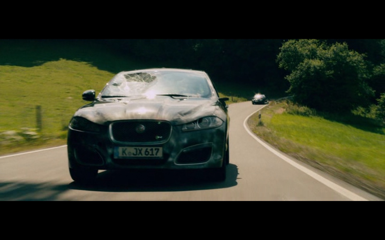 Jaguar XFR – Collide (2016) Movie Product Placement