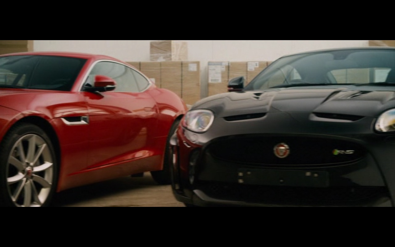 Jaguar XKR-S – Collide (2016) Movie Product Placement