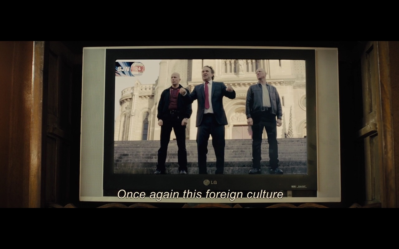 LG TV – Bastille Day (2016) - Movie Product Placement