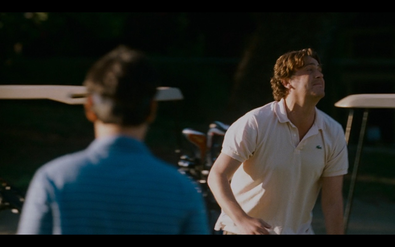 Lacoste Men's Polo Shirt – I Love You, Man (2009) Movie Product Placement