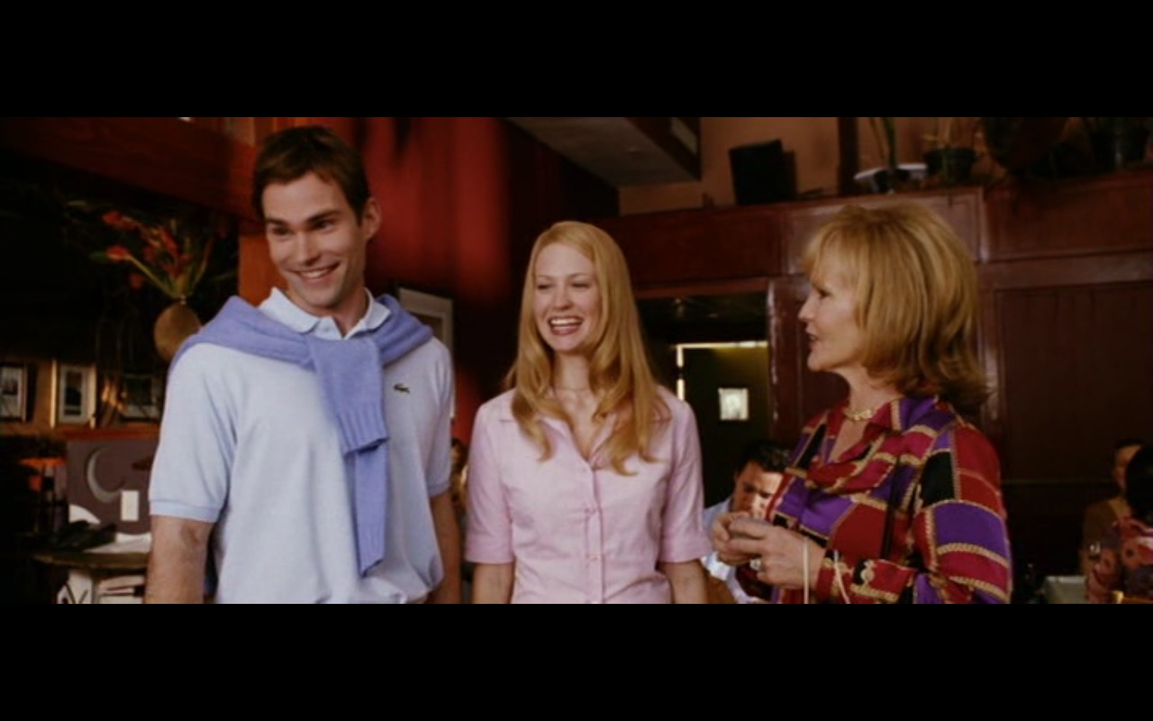 Lacoste Men's Polo Shirt - American Wedding (2003) Movie Product Placement