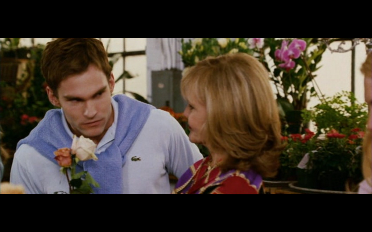 Lacoste Men's Polo Shirt - American Wedding (2003) - Movie Product Placement