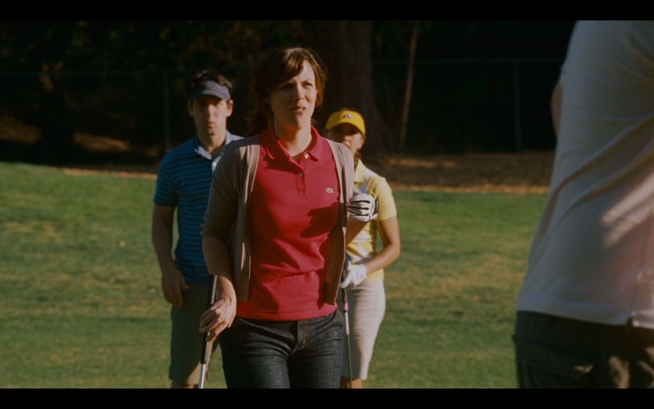 Lacoste Red Polo Shirt For Women – I Love You, Man (2009) - Movie Product Placement