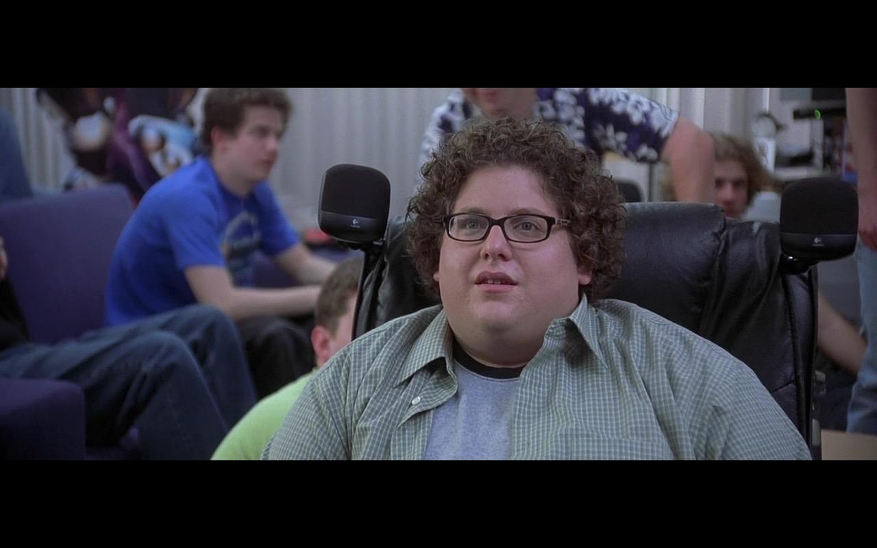 Logitech Audio Speakers  – Grandma's Boy (2006) - Movie Product Placement