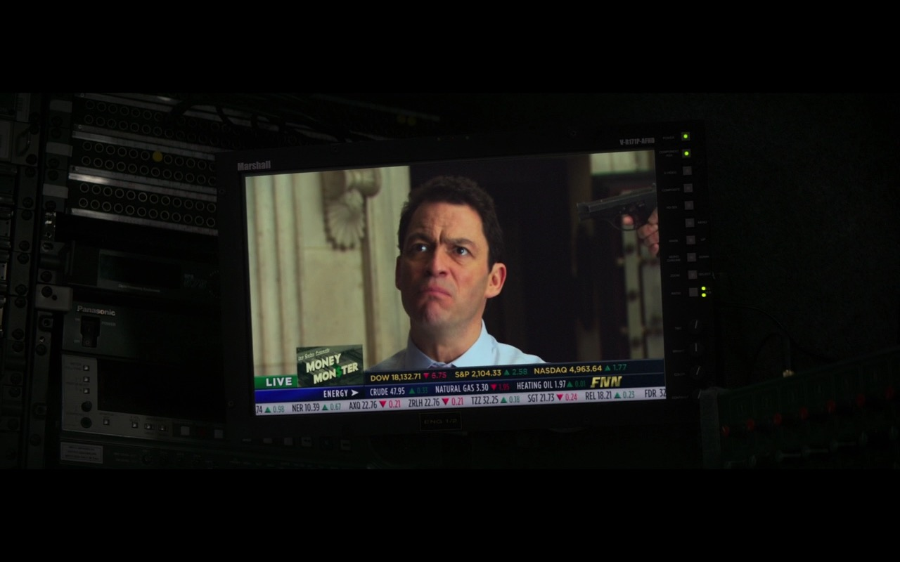 Marshall Electronics V-R171P-AFHD (Monitor) – Money Monster (2016) Movie Product Placement