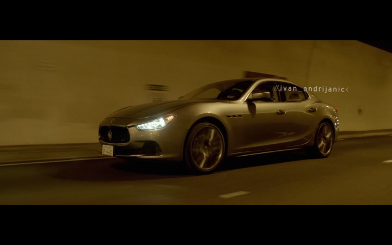 Maserati Ghibli - I.T. (2016) Movie Product Placement