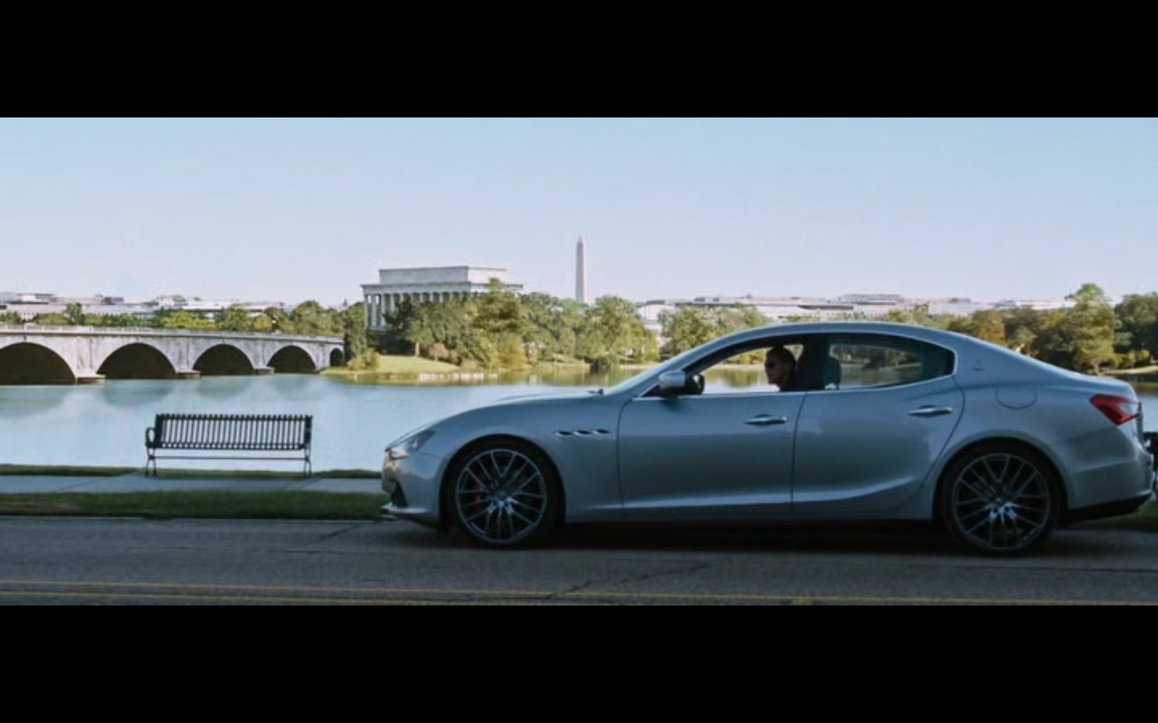 Maserati Ghibli - Jack Reacher: Never Go Back (2016) Movie Product Placement