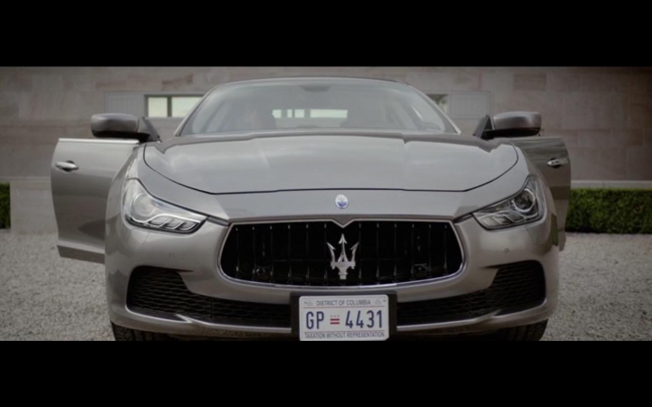 Maserati Ghibli - I.T. (2016) Movie Product Placement
