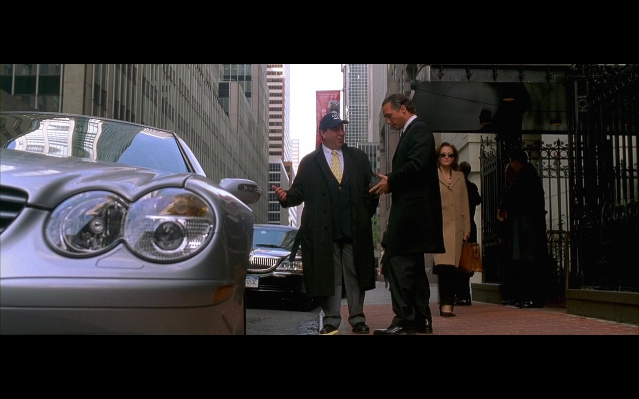 Mercedes-Benz SL-Class SL500 Convertible - Two for the Money (2005) - Movie Product Placement