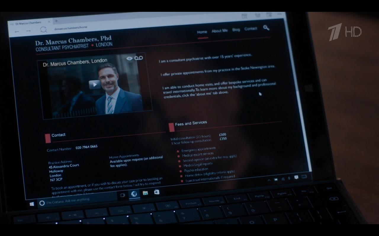Range Rover Charlotte >> Microsoft Surface Tablet - Sherlock TV Show