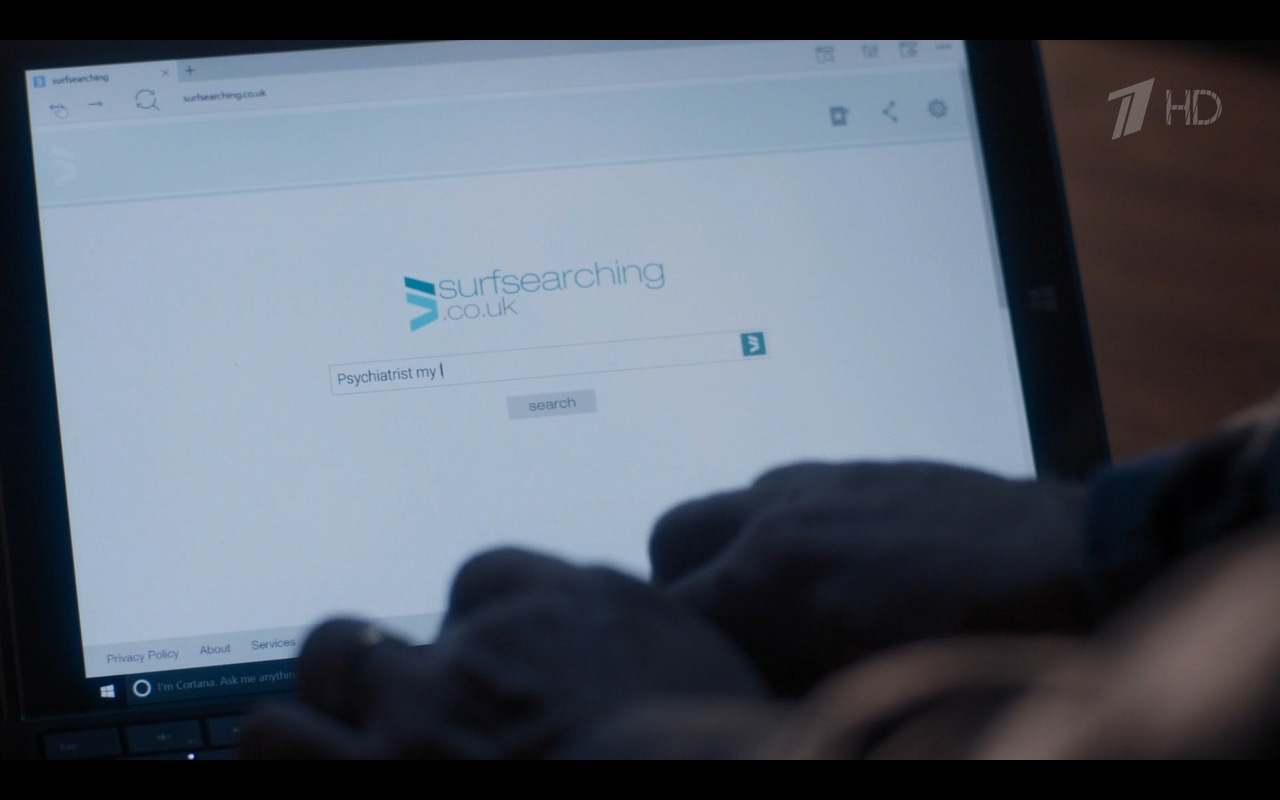 Microsoft Surface Tablet - Sherlock TV Show Product Placement