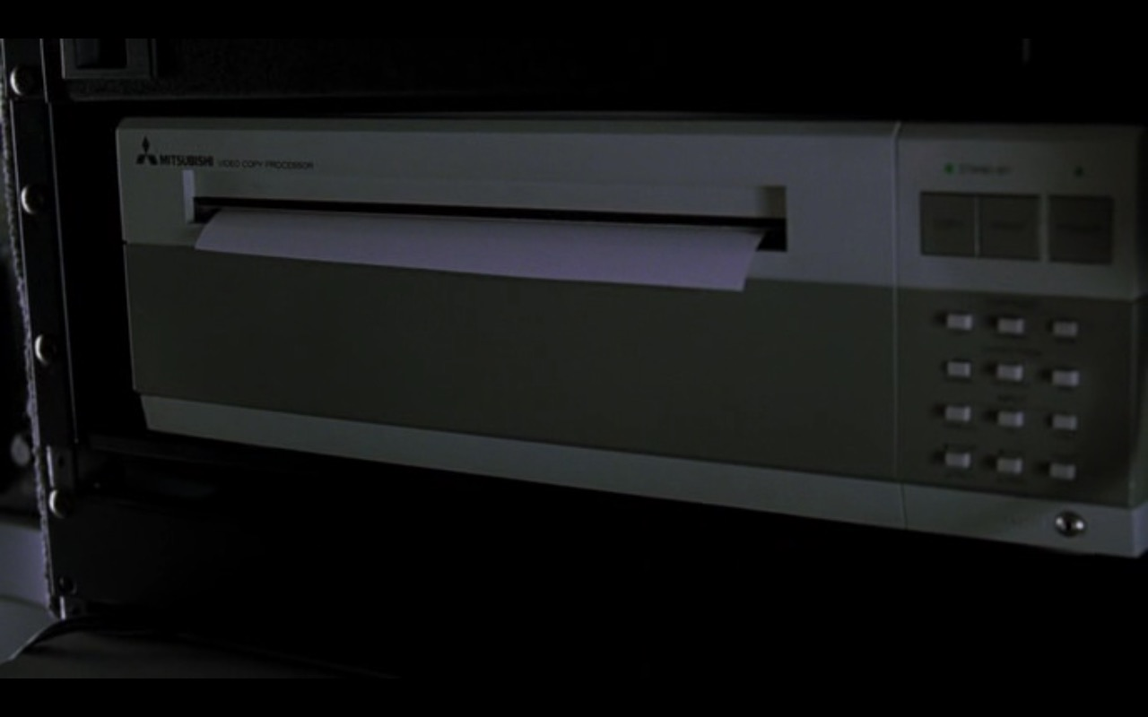 Mitsubishi Video Copy Processor Printer – U.S. Marshals (1998) - Movie Product Placement