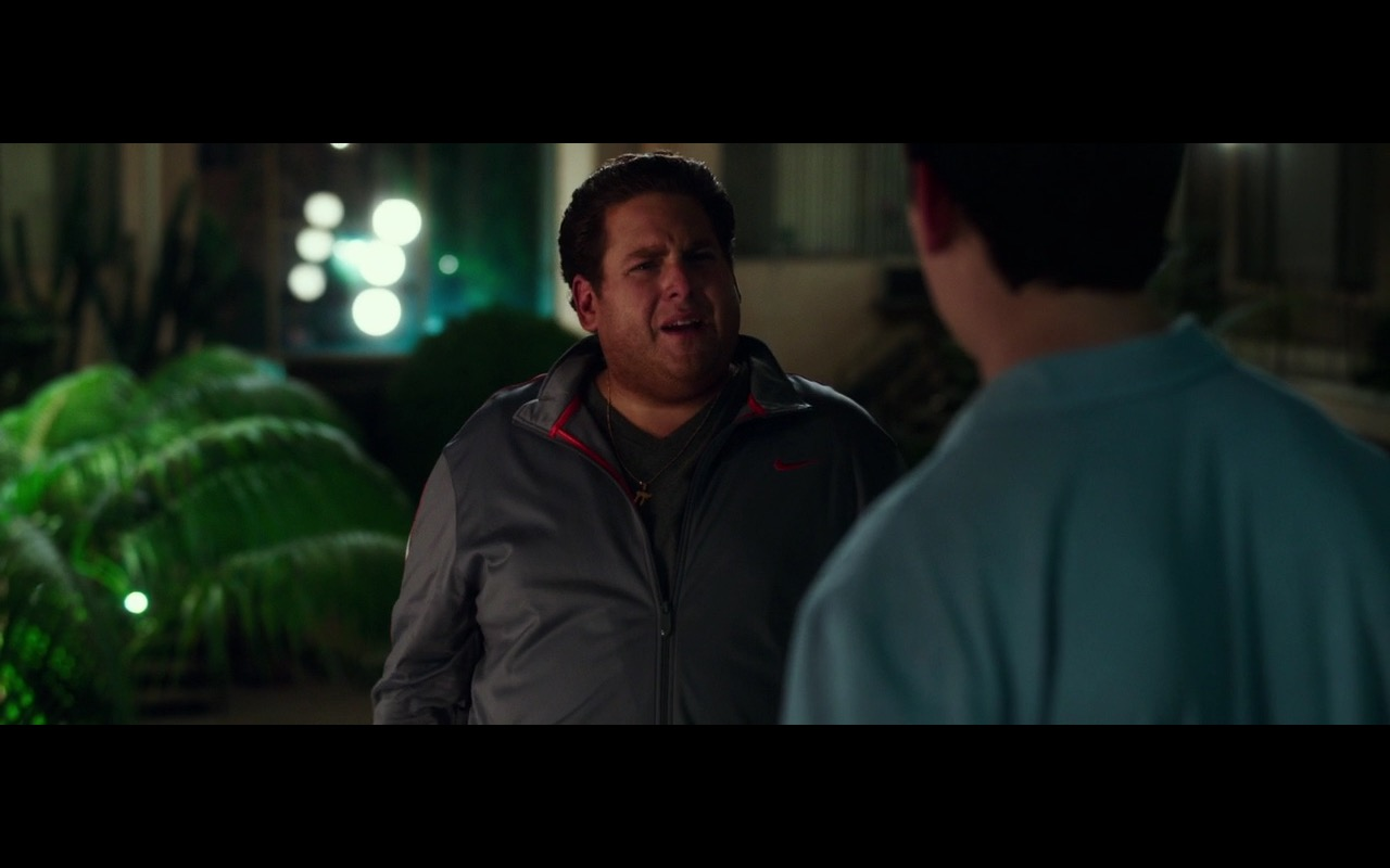 Nike Men's Jacket  – War Dogs (2016) Movie Product Placement