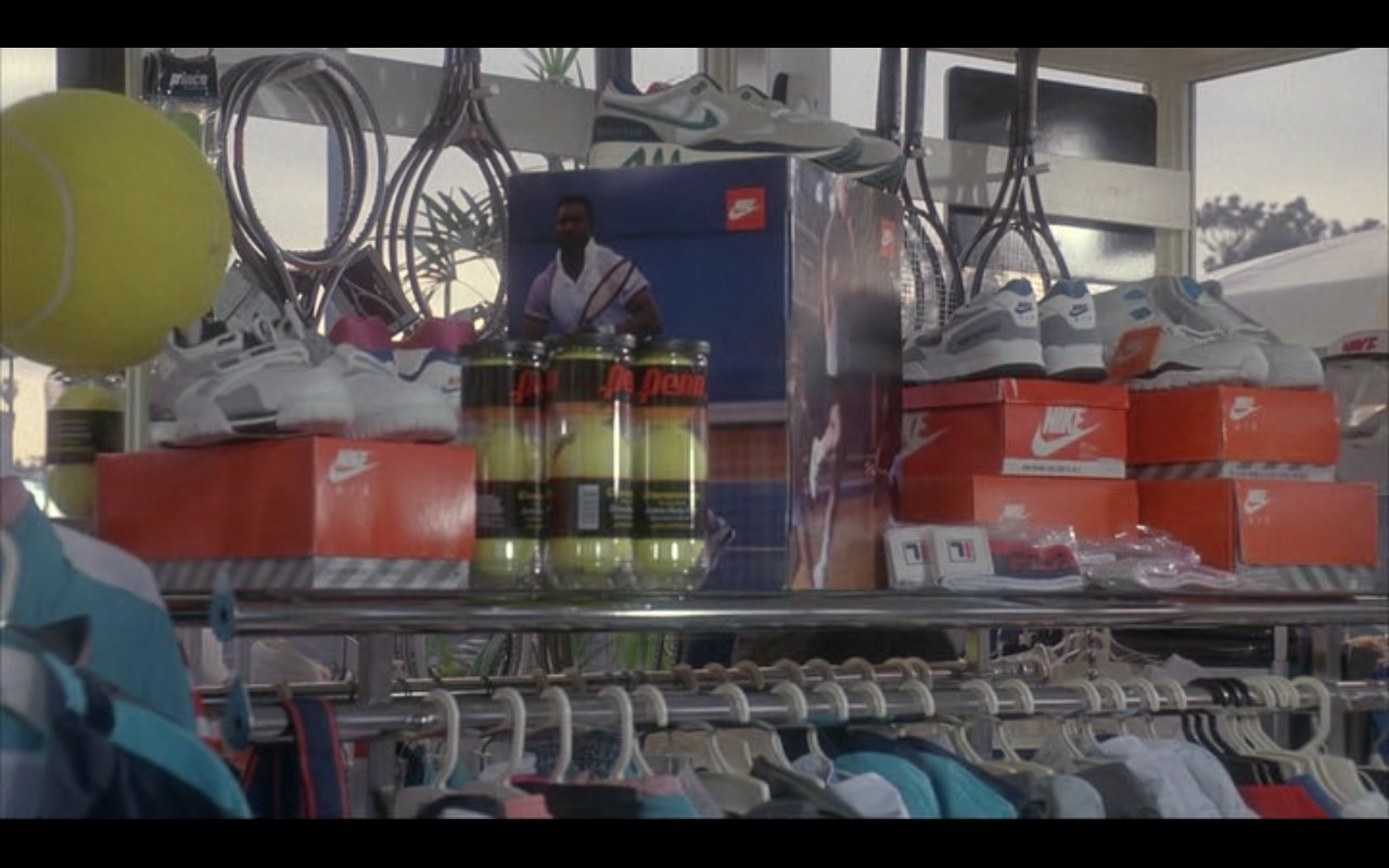 Nike Sneakers – Taking Care of Business (1990) Movie Product Placement