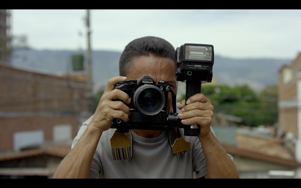 Nikon - Narcos TV Show Product Placement