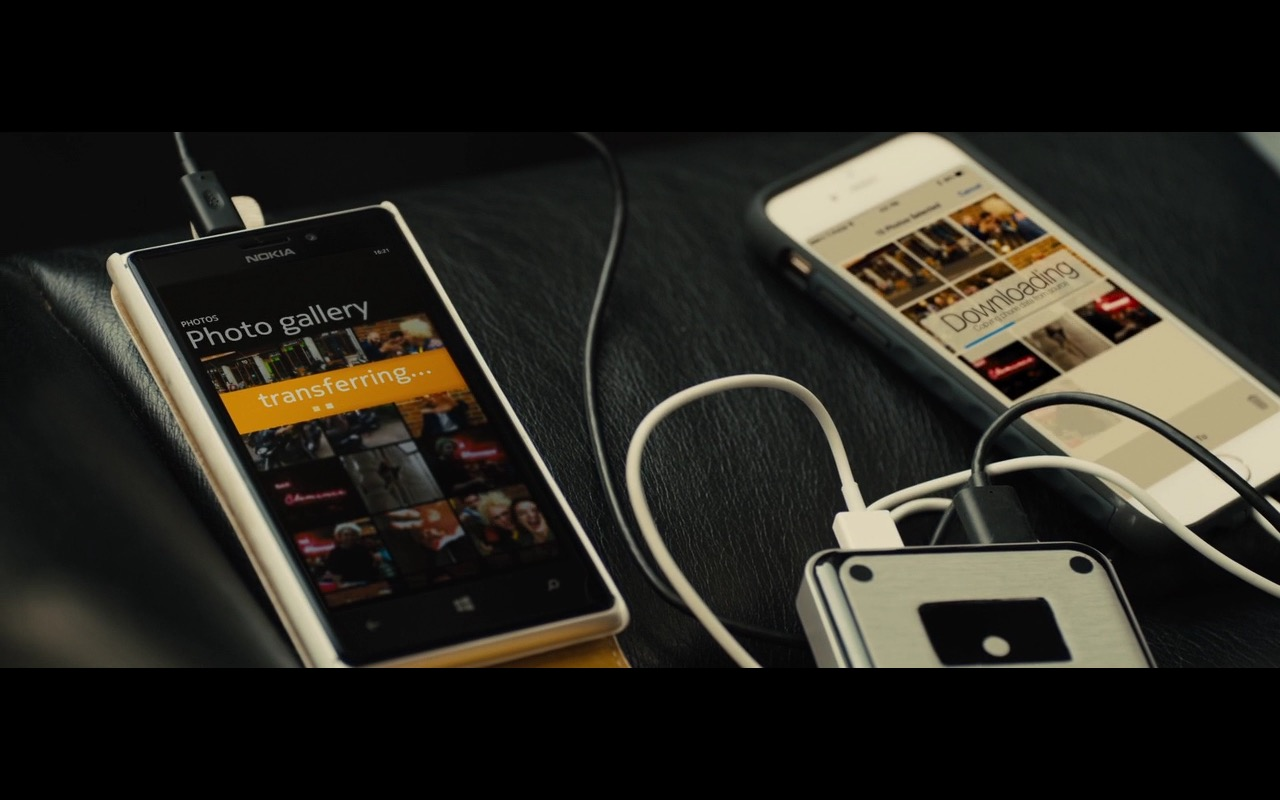 Nokia Lumia – Bastille Day (2016) Movie Product Placement
