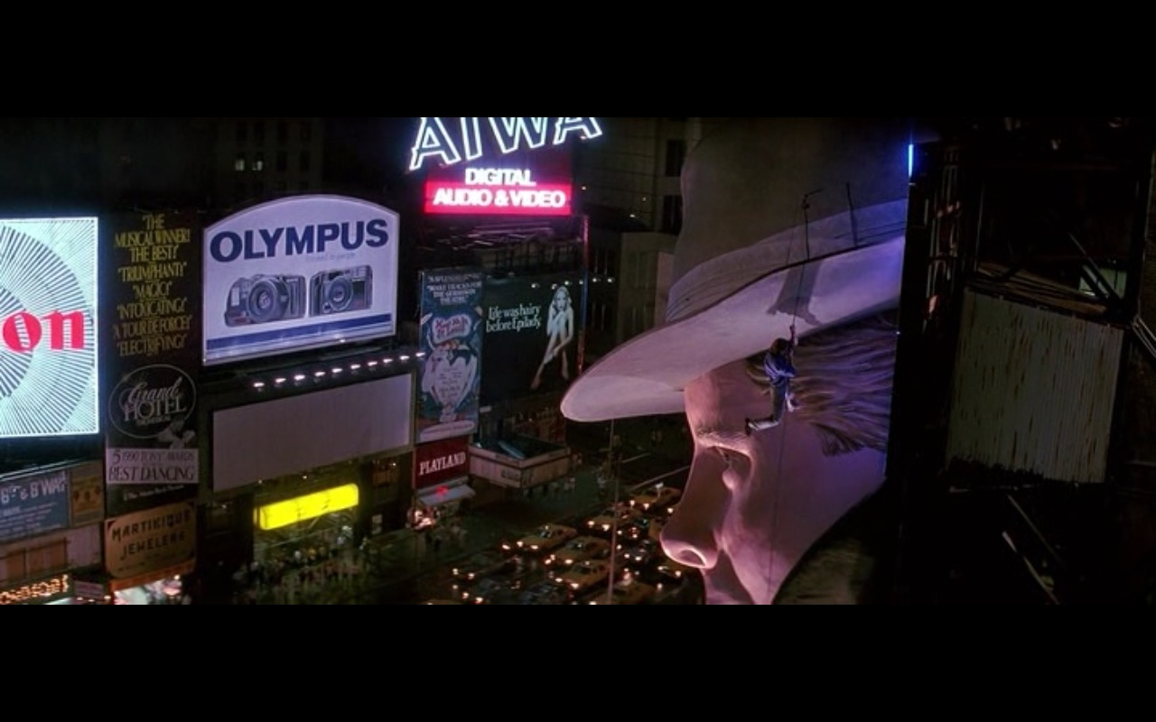 Olympus And AIWA – The Hard Way (1991) - Movie Product Placement