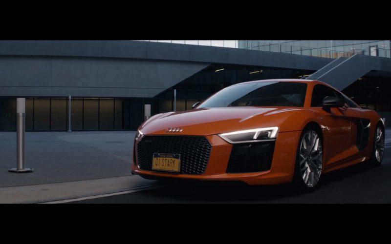 Orange Audi R8 – Captain America Civil War (1)